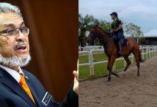 Yuran Menunggang Kuda Turun, Menteri Harap Rakyat Ambil Peluang Belajar Menunggang Kuda