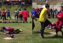 [VIDEO] Bila Lelaki Main Bola Jaring, Dah Macam Wrestling!