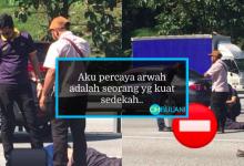 Niat Nak Tolong Alihkan Tayar Lori Pecah Atas Jalan Raya, Namun Ini Pula Berlaku. Sebaknya..