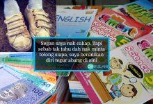 Bapa Terpaksa Tebalkan Muka Pinjam Duit RM30 Nak Beli Buku Sekolah Anak