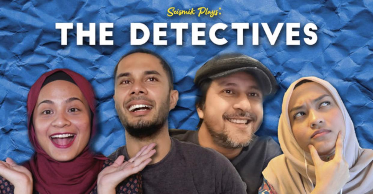 [VIDEO] Game The Detectives Buat Bront Palarae & Fikry Ibrahim Pecah Kepala Selesaikan Kes.