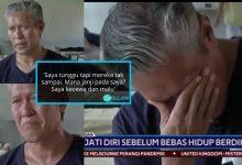 'Anggap Sahaja Saya Sudah Mati' – Pak Cik Gelandangan Sebak, Keluarga Mungkir Janji Mahu Jemput