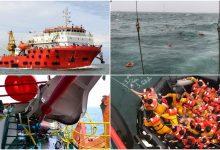 Tragedi 'Dayang Topaz' Di Miri, 125 Kru Terpaksa Terjun Kapal, Seorang Disahkan Maut