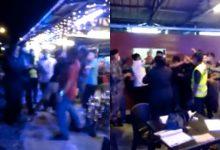 [VIDEO] Polis Cedera, Patah Jari Tangan Dihentak Botol Kaca