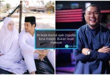 'At Least Kamal Ajak Uqasha Bina Masjid, Bukan Buat Maksiat' – Michael Ang