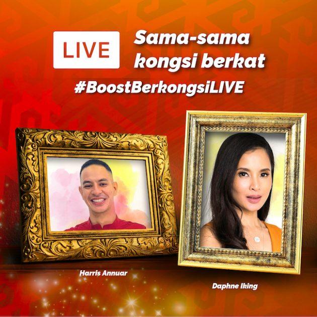 Tonton Sesi IG Live Bersama Harris Annuar & Daphne Iking Dengan Boost Sempena Ramadan Ni 5