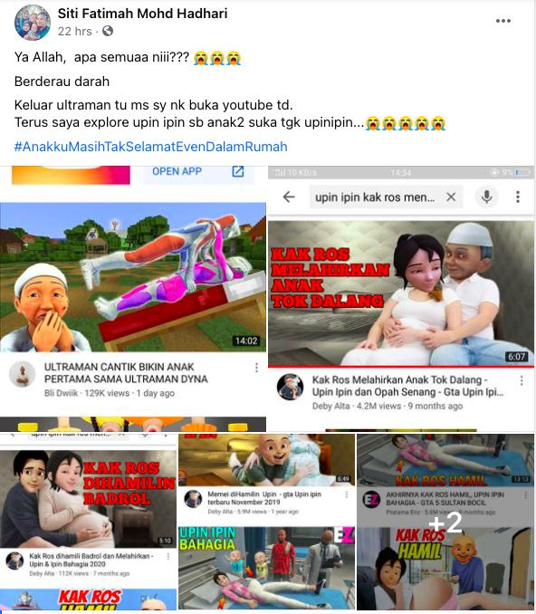 Ibu Risau Kandungan Animasi Di YouTube Makin Melampau, Ini Cara 'Tapis' & Pantau Aktiviti Anak 4