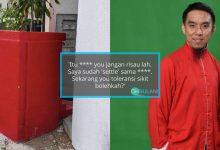 Firdaus Wong Kesal, Pemilik Bengkel Bina Tokong Depan Tangga Pejabat Hingga Ganggu Laluan