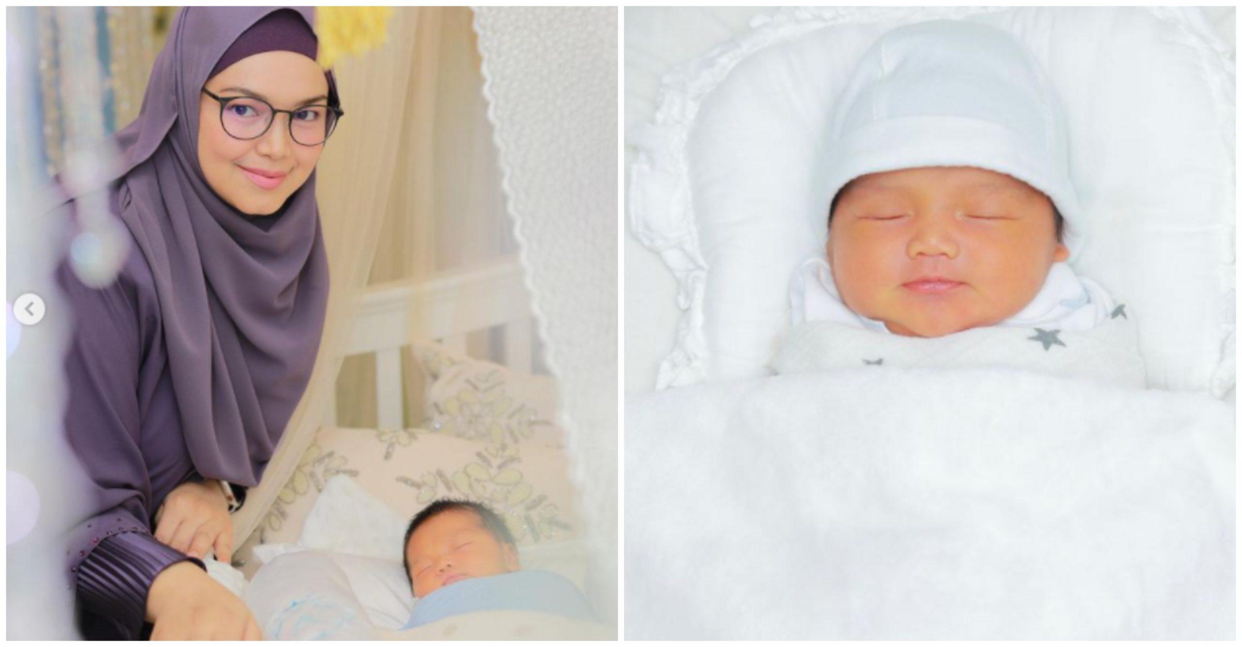 Muhammad Afwa Nama Diberi Untuk Anak Kedua Siti Nurhaliza