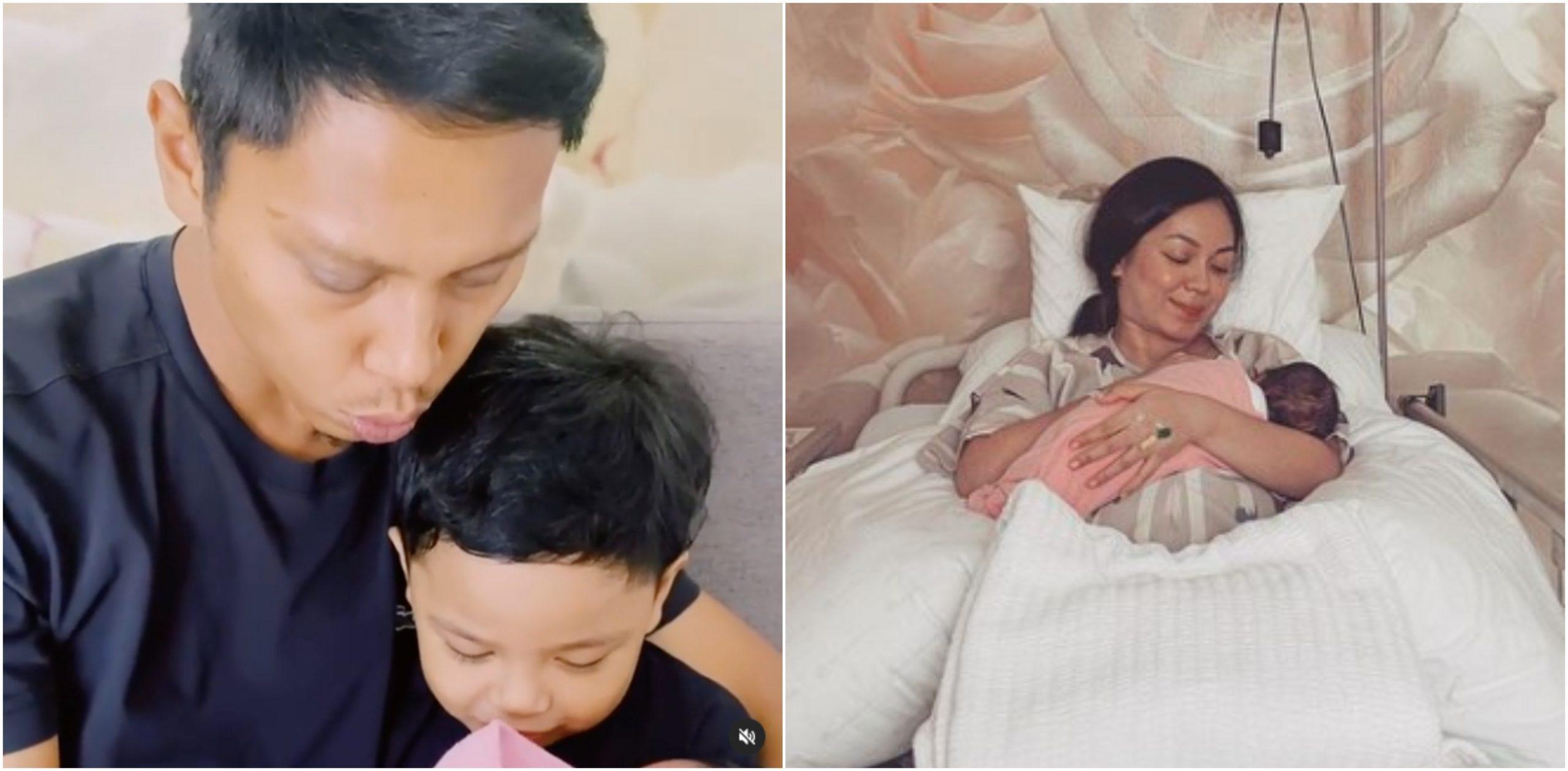 'Selamat Hadir Dalam Hidup Kami, Budi Kalsom' – Netizen Puji Nad Zainal Pilih Nama 'Klasik' Buat Anak 3
