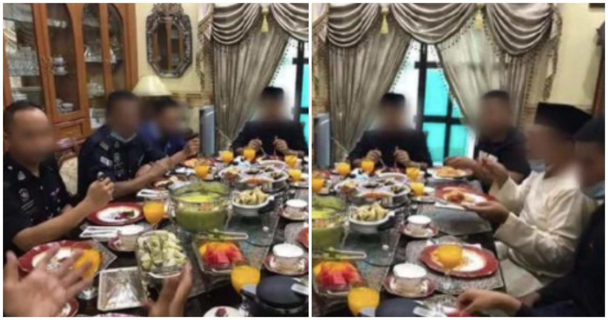 Jemput Anggota Masuk Makan Juadah Raya, Bekas Pegawai Polis Disiasat 2