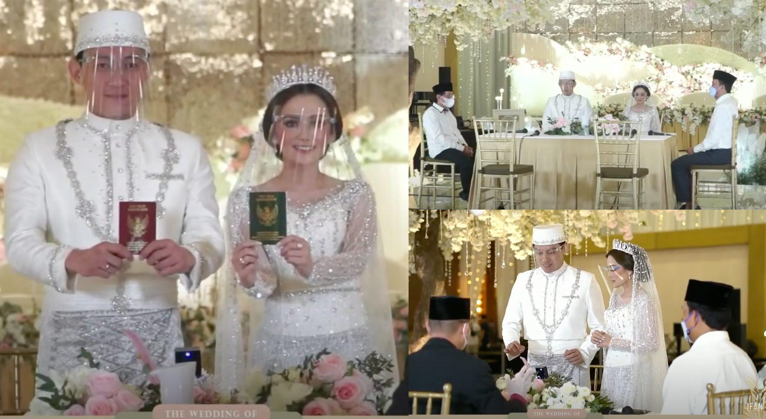 [FOTO] Ifan Seventeen Selamat Bernikah Dengan Citra Monica, Siap Ada 'Live' Dekat TV 1