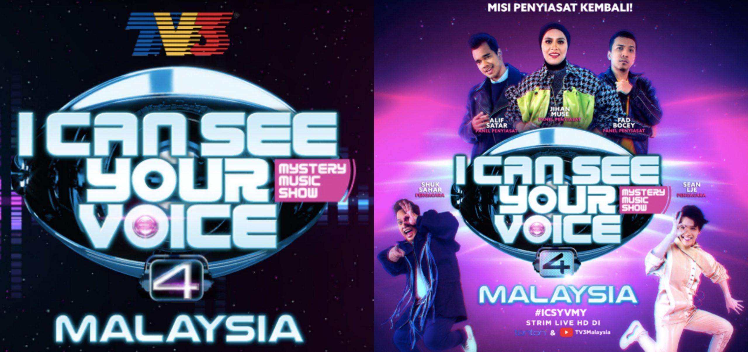 I Can See Your Voice Malaysia Musim Keempat Bermual 16 Mei, Episod Pertama Istimewa Edisi Raya