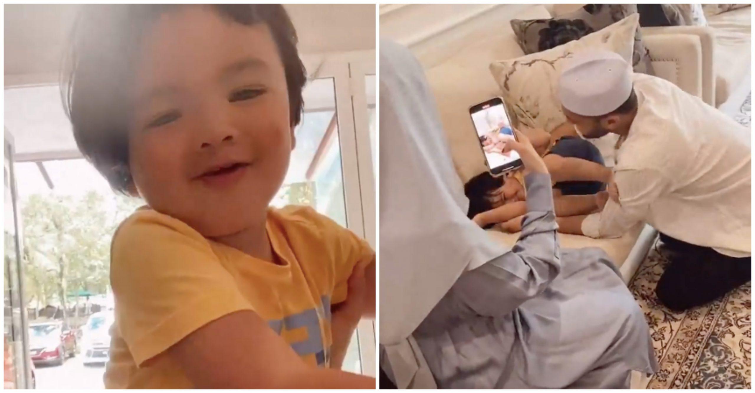 [VIDEO] Lepas 'Can Mali Can', Jebat Jayden Hadiahkan PU Riz Lagu Happy Birthday. Comel Sungguh! 1