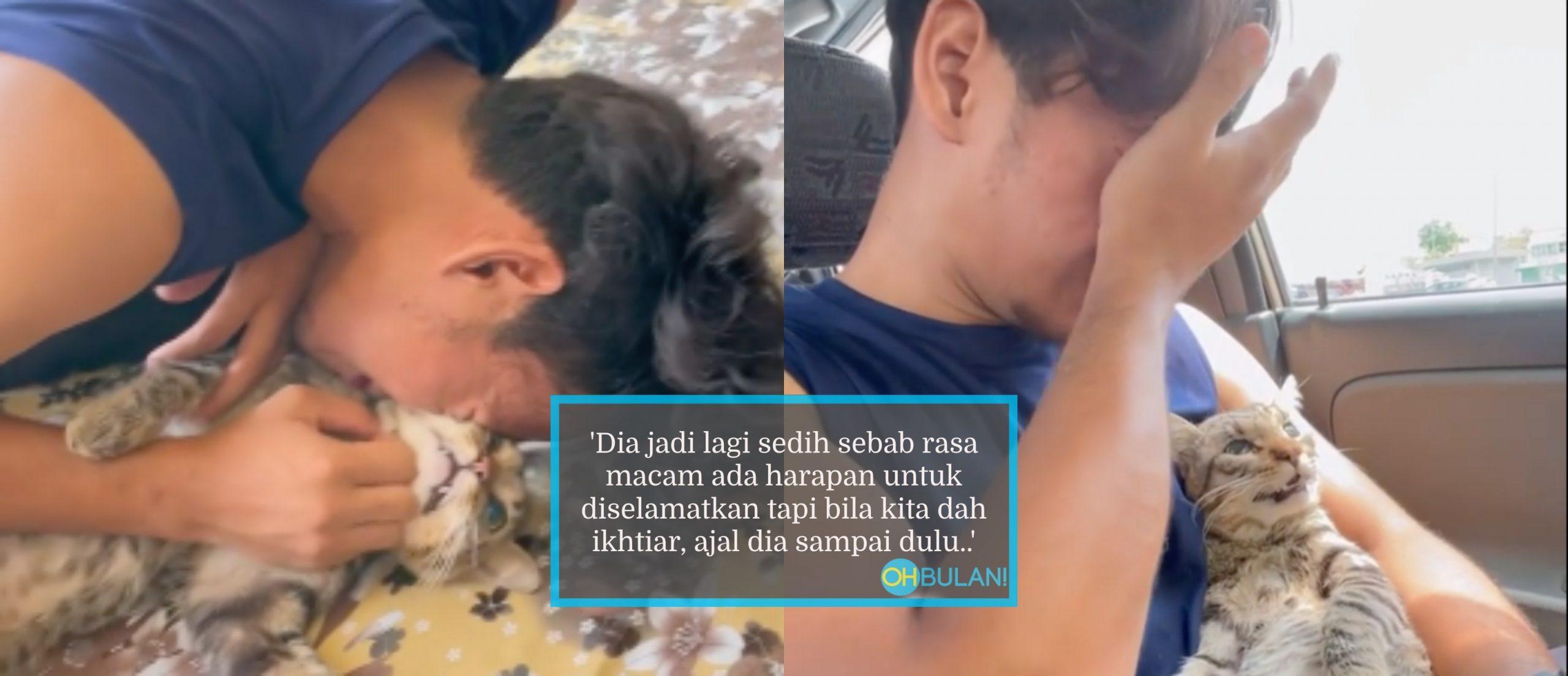 Viral Video Menangis Kucing Mati, Rupanya 'Paktam' Dah Bagi 'Hint', Masuk Semua Bilik Buat Kali Terakhir