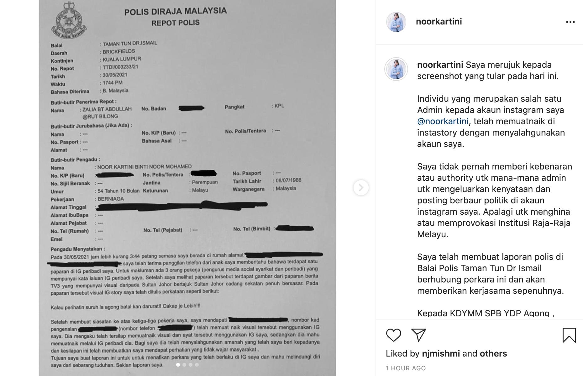 'Saya Tak Ada Niat Nak Susahkan Datin' – Pekerja Mak Neelofa Mohon Maaf Kes IG Story 4