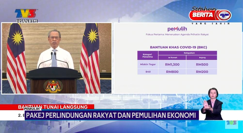 Bantuan Khas Covid-19 Buat Rakyat Malaysia Cecah RM1,300 & Pengeluaran i-Citra Sehingga RM5k 4