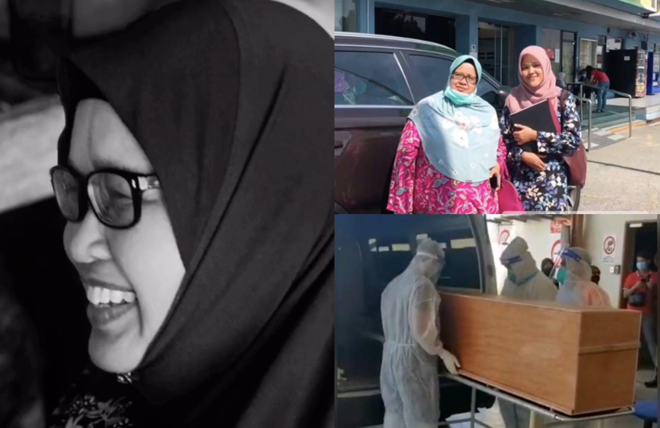 [VIDEO] 'Sempat' Luang Masa Bersama Arwah Ibu Selepas Balik Dari Kampus, Pelajar Sebak Ibu Meninggal Dunia Akibat Covid-19 1