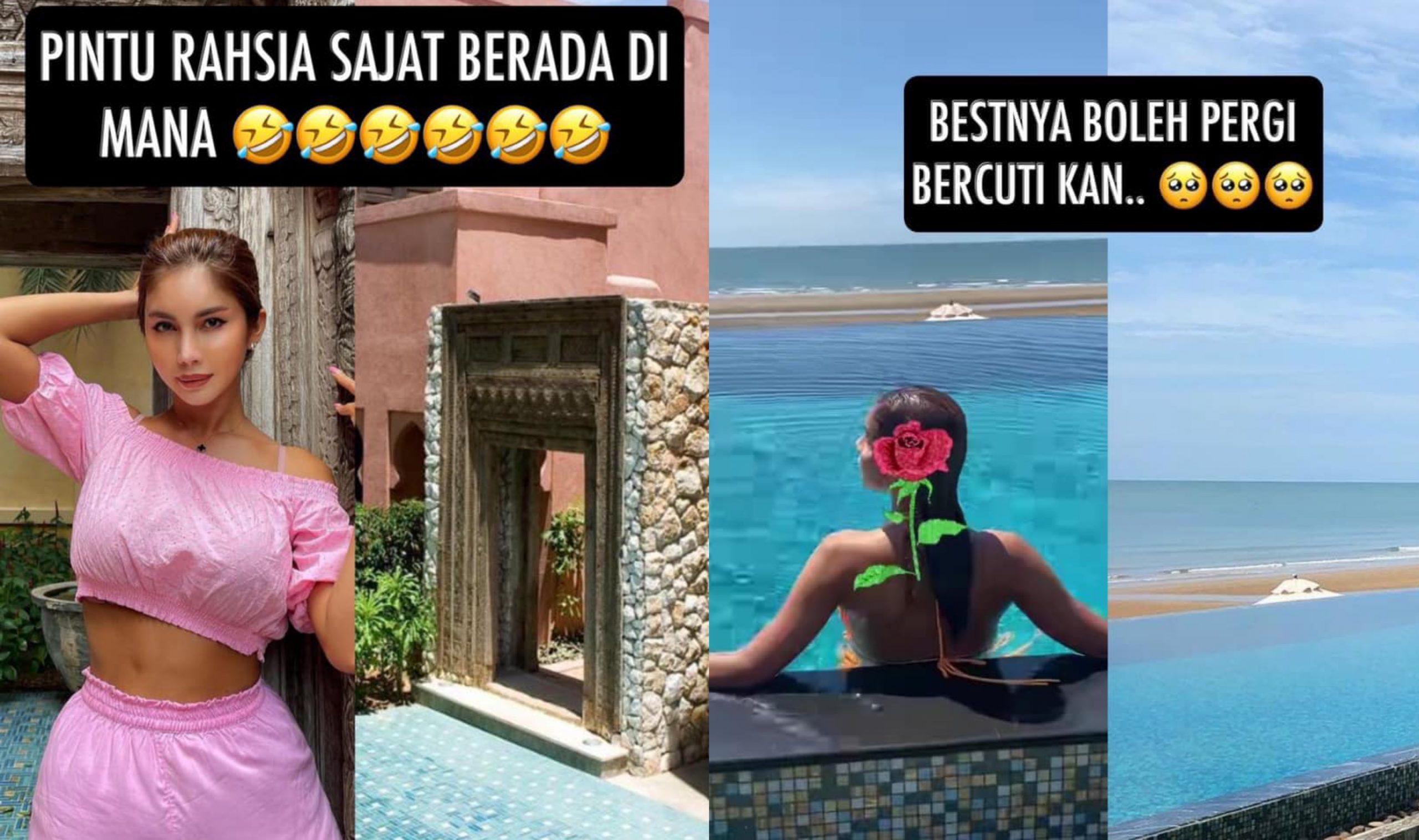 Kongsi Foto Tepi Pantai, Netizen Siasat Lokasi 'Rahsia' Sajat. Sebijik Macam Hotel Dekat… 7