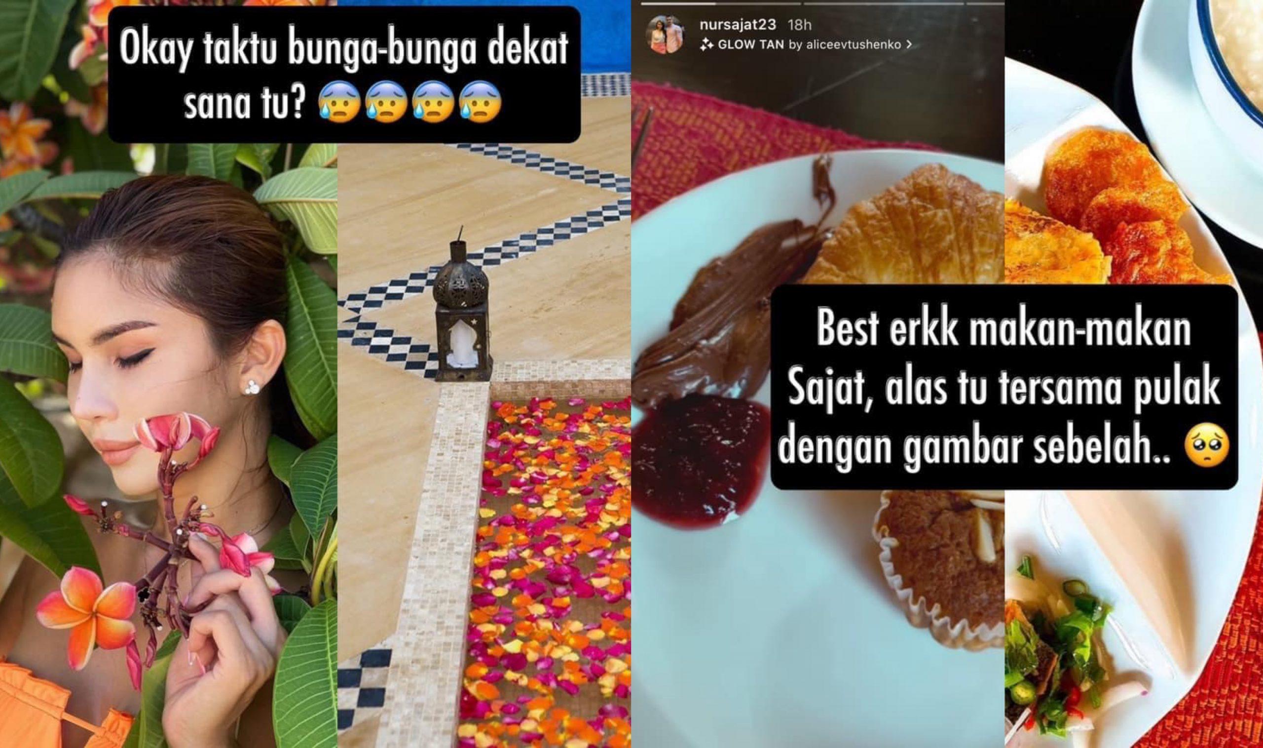 Kongsi Foto Tepi Pantai, Netizen Siasat Lokasi 'Rahsia' Sajat. Sebijik Macam Hotel Dekat… 9