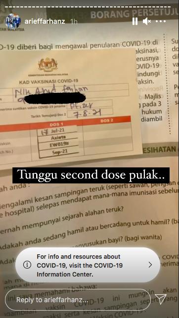 Muat Naik Foto Di PPV, Netizen Persoal PA Ustaz Ebit Lew Baru Cucuk Vaksin? 4