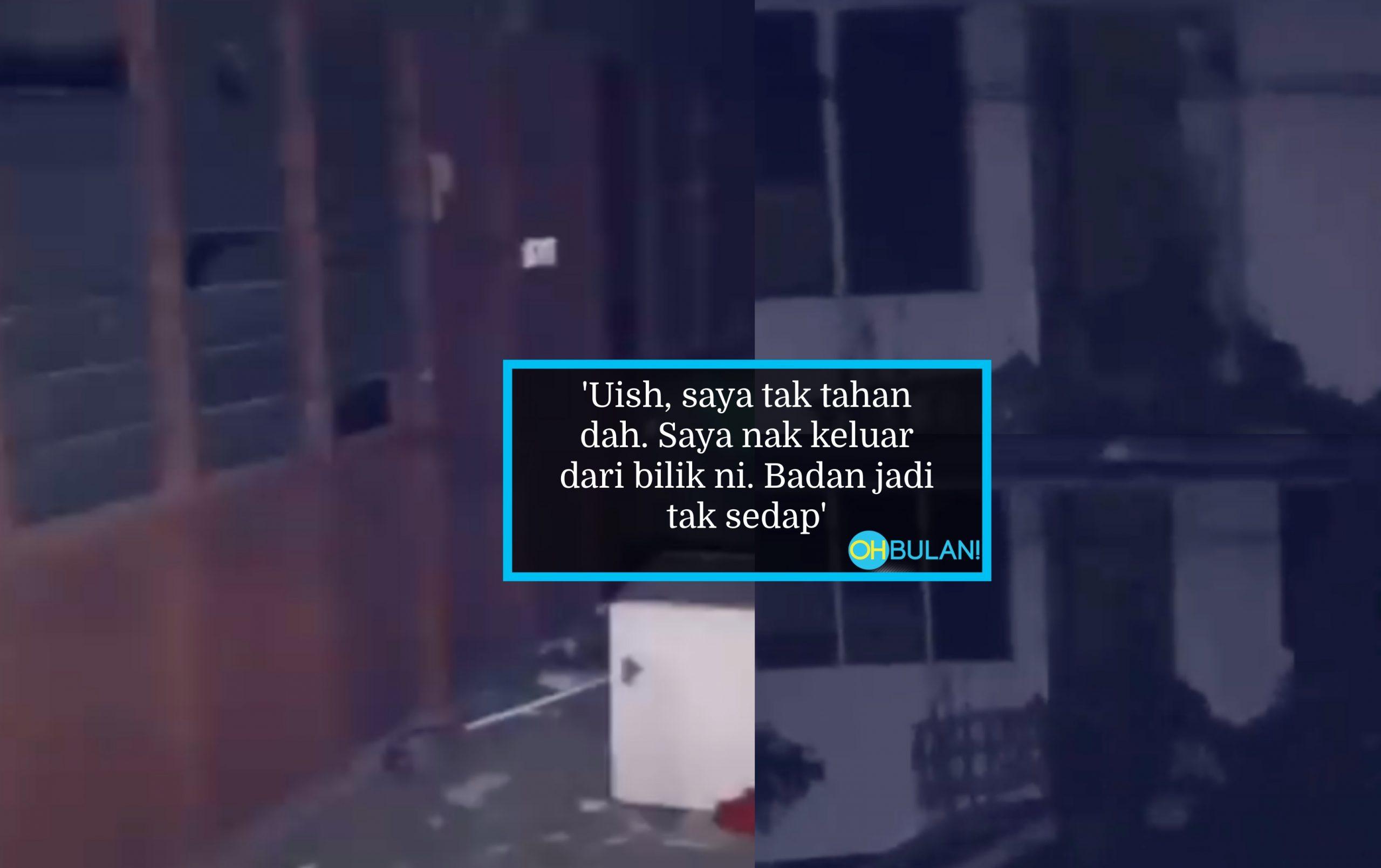 [VIDEO] Berani Sangat Cari Hantu, Sekali 'Pocong' Tunjuk Muka & Main 'Cak Cak', Terus Lari Lintang-Pukang!