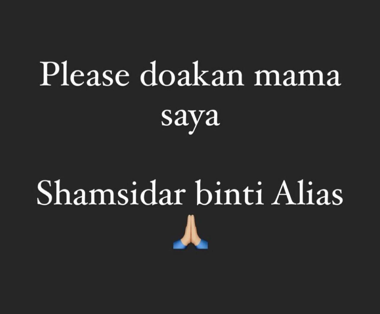 'Saya Mohon Kalian Doa Untuk Mama Saya' – Ibu Elyana Positif Covid-19 8