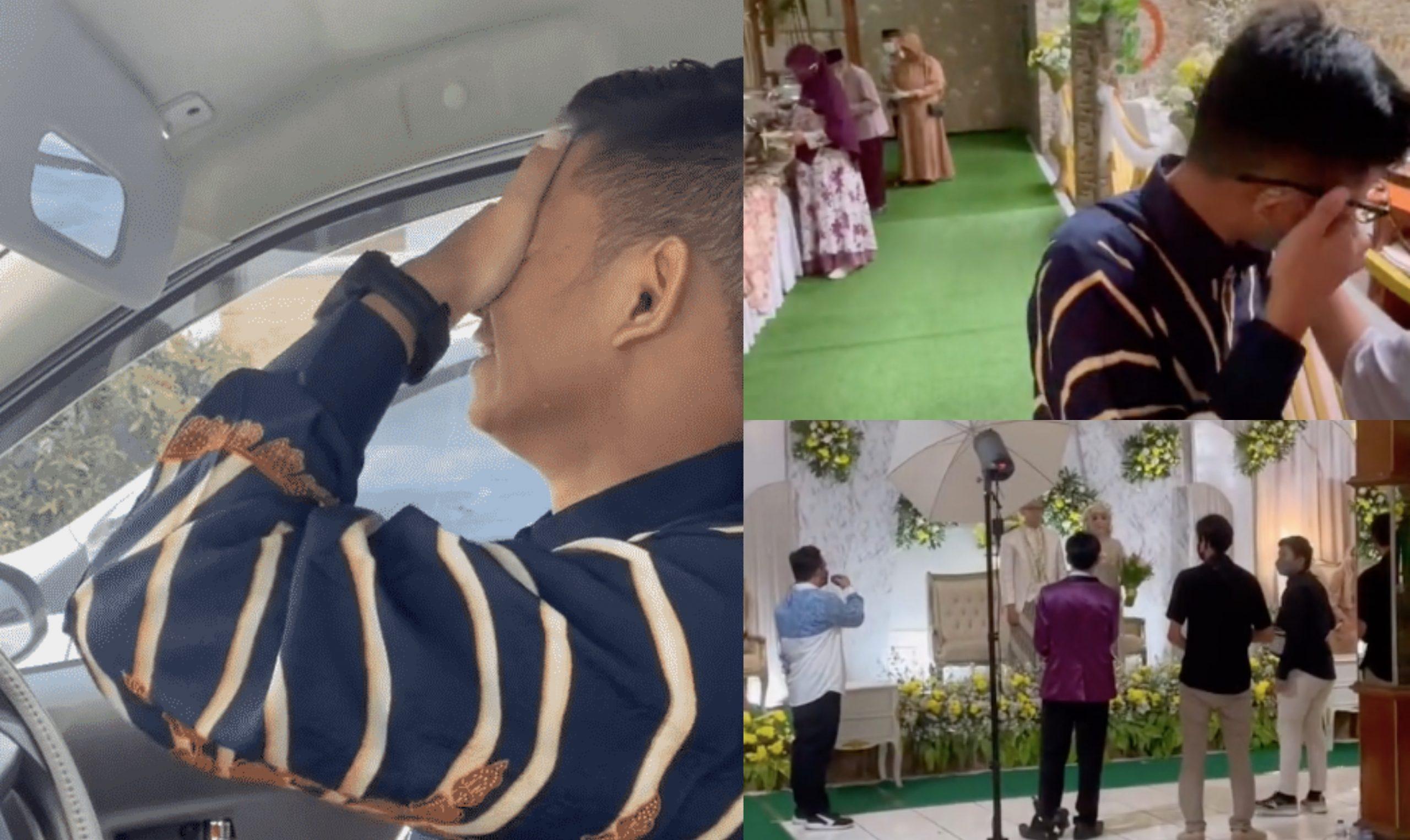 [VIDEO] 5 Tahun Jaga Jodoh Orang, Pemuda Nangis Datang Majlis Kahwin Bekas Kekasih – 'Dah Pesan Jangan Datang'