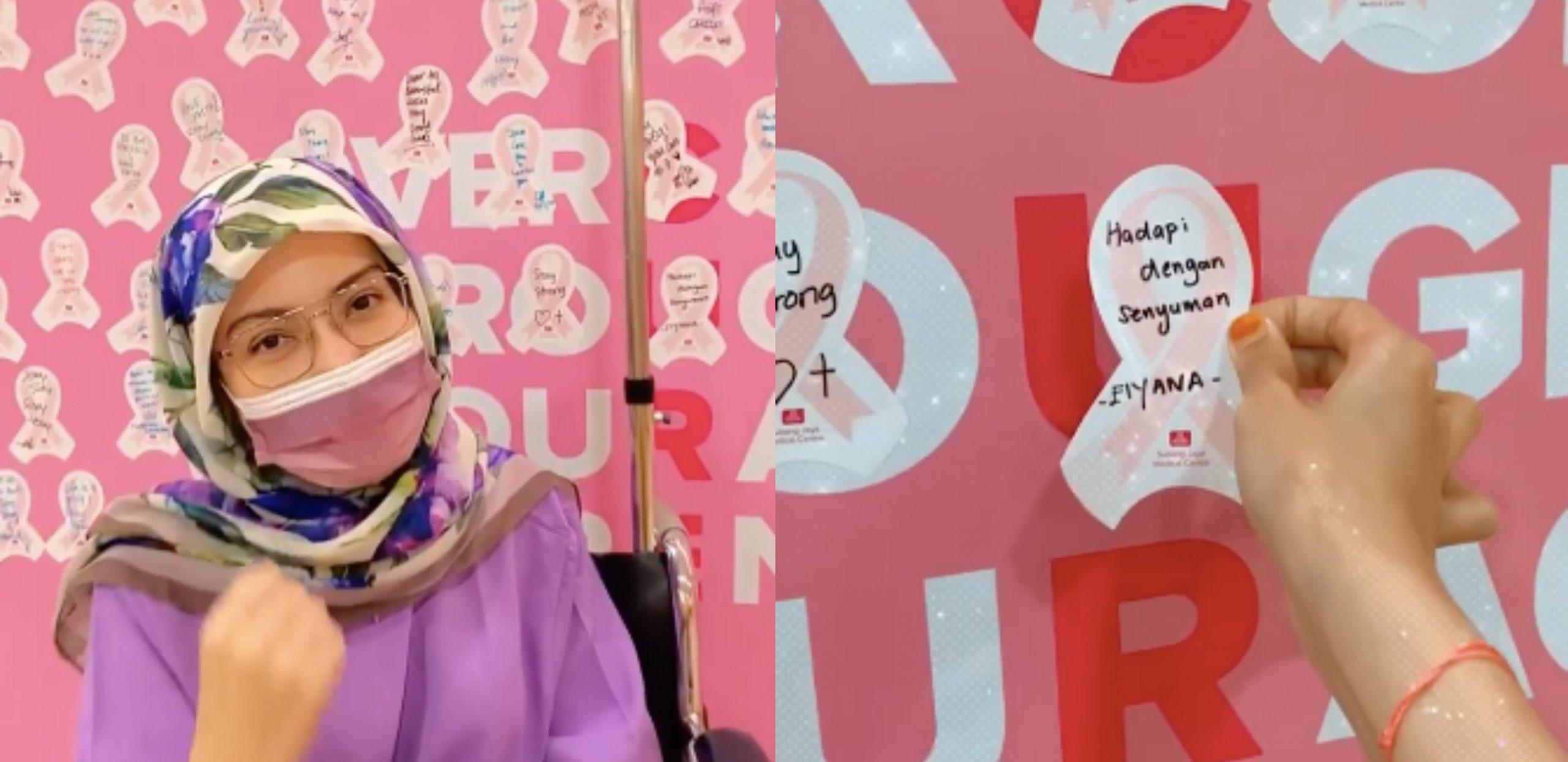 'Setiap Pesakit Kanser Harus Jalani Ujian Ini Dengan Senyuman' – Elyana Buat Rawatan Kimoterapi Kali Kedua Hari Ini 2