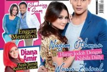 Wawa Zainal & Nazim Othman Cover Media Hiburan Edisi Oktober