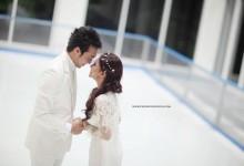 Teaser Foto Pra Perkahwinan Khairul Fahmi & Leuniey