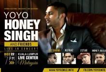"Bollywood : Saksikan ""Yoyo Honey Singh & Friends Live In Kuala Lumpur"" Disember Ini!"