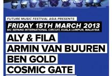 Livescape: Senarai Penuh Barisan Artis Future Music Festival Asia 2013