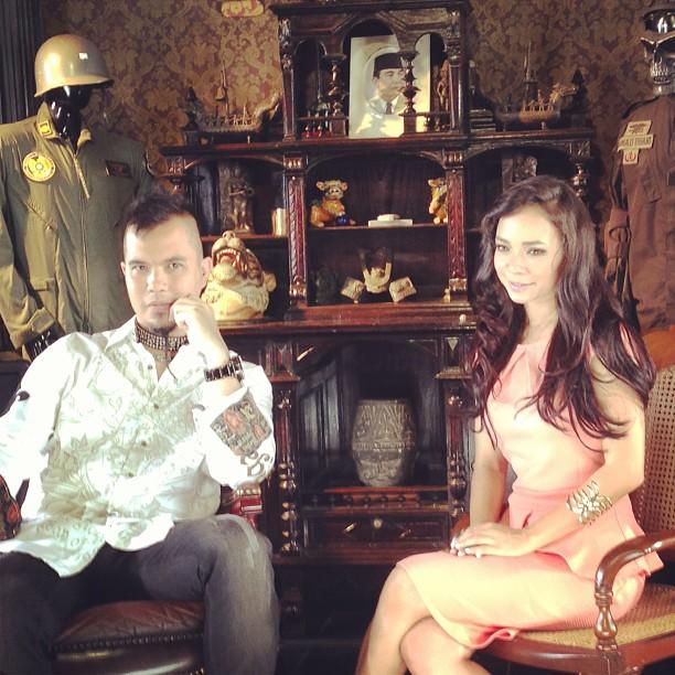 Ahmad Dhani & Nora Danish8
