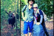 Foto Ella & Suami Di Puncak Gunung Ledang