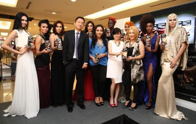 L-R - Mr Tan Hock Guan, Alia Bastamam, Ms Caryn Loh, Ms Christine Law