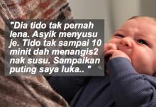 Bayi Sering Lapar, Tidur Tak Lena.. Seorang Ibu Gelisah Dengan Anaknya Sehingga Lah.. Seramnya