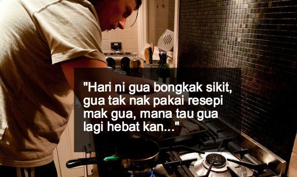 lelaki masak