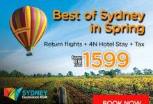 5 Hot Spot Ni Wajib Jejak Bila Sampai Ke Sydney Sepanjang Musim Bunga Kali Ni…Bila Tu?