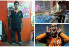Peroleh Gaji RM15 Sehari Jual Nasi Lemak, Burger & Cuci Pinggan. Ini Kisah Sayu Disebalik Kejayaan Dek Wan