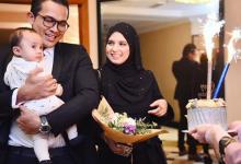 [FOTO] Sekitar Majlis Kejutan Hari Lahir Isteri Saharul Ridzwan. Sweetnya!