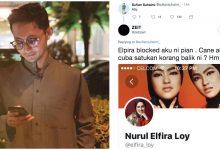 Elfira Loy Blocked Peminat Cuba Ingin Satukan Hubungan Dengan Sufian, Ini Respon Penyanyi Itu. Sayunya..