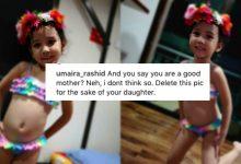 'Kenapa Post Gambar Anak Berbikini?' – Netizen Tegur Fasha Sandha