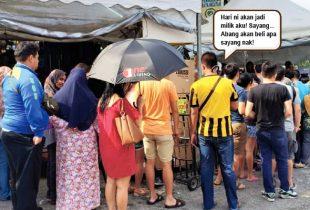 One Living Puchong Buat Promosi Gila-Gila! Serbu Jom!
