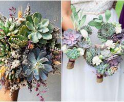 Jambangan Kaktus, Idea Hand Bouquet Unik Ratu Sehari Hipster