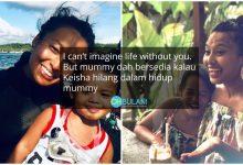 'Keisha Tahu Mama Kerja Untuk Bayar Yuran Sekolah' – Nabila Huda Sebak Cerita Tentang Anak
