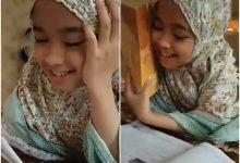 [VIDEO] 'Aku Buka Ingatkan Dia Nak Mengaji..' – Netizen Tertipu Dengan Penampilan Gadis Kecil Ini