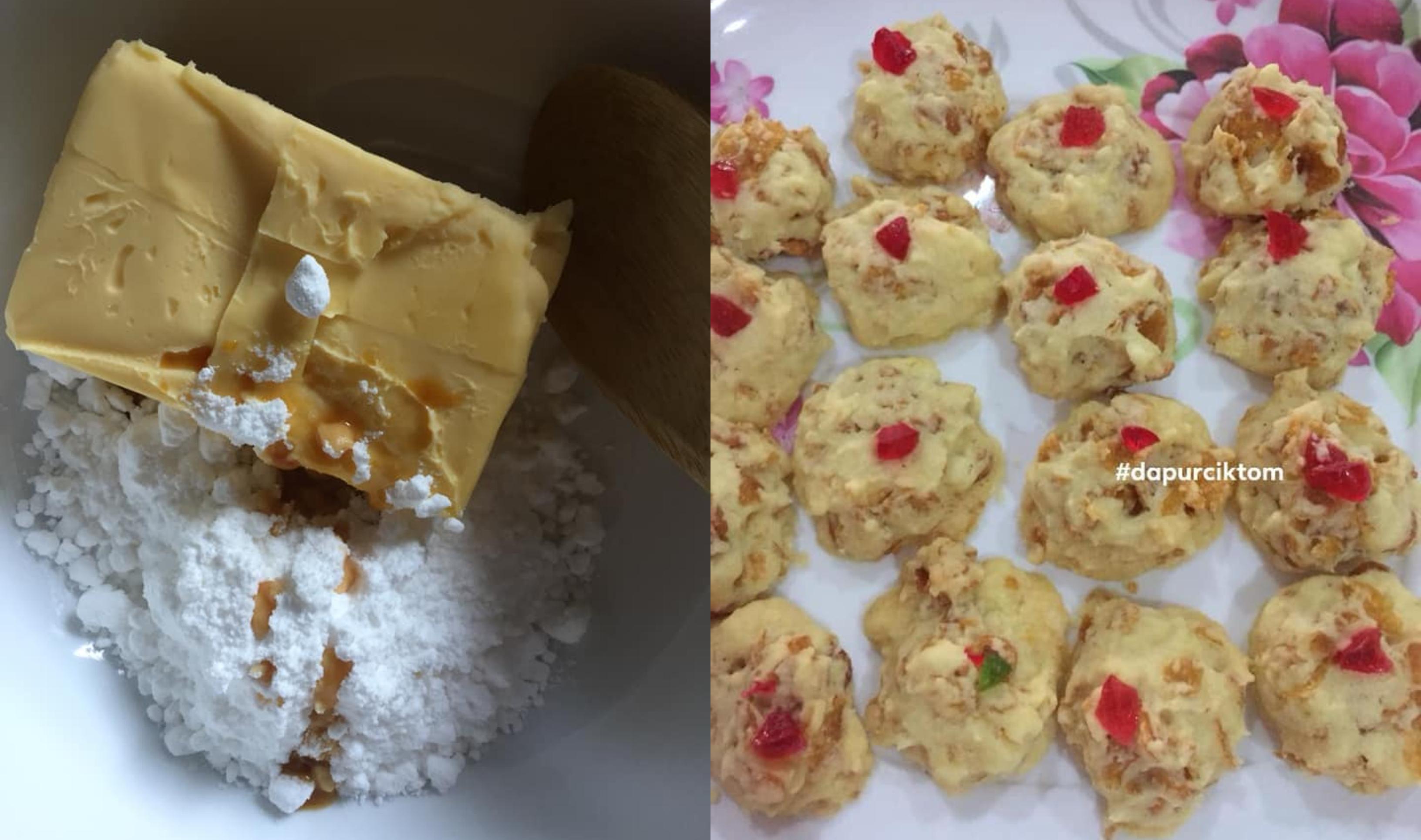 Resepi Biskut Cornflakes Crunchy Mudah