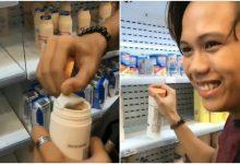[VIDEO] 'Tunjuk Resit Lah!' – Netizen Bengang Tindakan Remaja Sengaja Rosakkan Barang FamilyMart