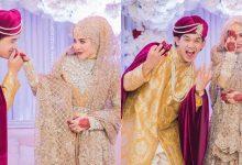 [FOTO] Sekitar Majlis Berinai Ardell Aryana & Nadzmi Adhwa, Macam Aladdin Versi Malaysia!
